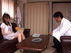 Puta japonesa loca Akiho Yoshizawa en bragas asombroso, escena de bdsm JAV
