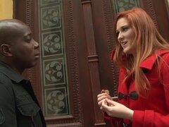 Culo de chico negro follando a mi esposa ella cums y paseos en BBC
