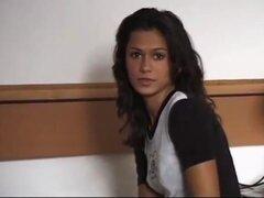 Casting: eva roberts follan duro en una habitación de hotel. Cuerpo cara hermosa. Eva roberts