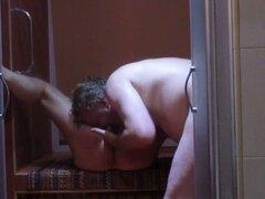Agradar a mi madura esposa árabe Nadia en la ducha. sexo ducha con mi madura esposa árabe Nadia en la ducha