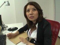 Chick Japon exótica Erika Ando en fabuloso DildosToys, clip de medias JAV