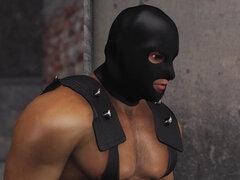 Chicas jóvenes en jaulas humanas follada por un hombre brutal en una máscara en un sótano. Chicas jóvenes en jaulas humanas follada por un hombre brutal en una máscara en un sótano