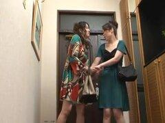 Japonesa lesbiana Gokuraku 17,