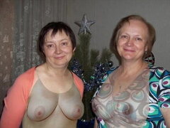 Vestido desnudo! Madura madre e hija no! Animación!