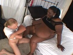 SSBBW Ivy Negro Ombligo Follada