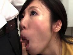Milf asiática mio Kayama en sesión de sexo en público sexy