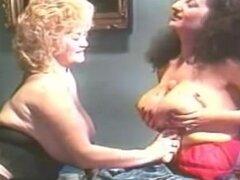 Nikki King amp chica lesbiana Lotta Topp sobre lesbianas chica
