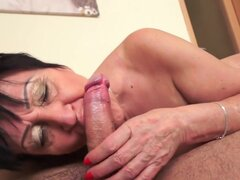 Anastasia in Anastasia's Morning Sweetness, Scene #01 - 21Sextreme, Anastasia may be a granny but she's still horny as fuck. She is happily surprised by her sexyer boy toy this morning. He's the perfect 'pick me up', better than ten cups of coffeeu2026 and since the hot granny doesn't need to rush anywhere, she spends some quality time in the company of a big, sexy cock.