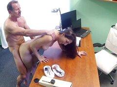 Paciente español caliente obtiene creampied