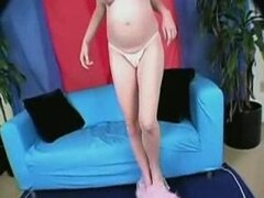 Chica embarazada UPS