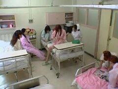 Puta de exóticos japonés Ayu Sugihara de fabuloso camaras ocultas, video médico JAV