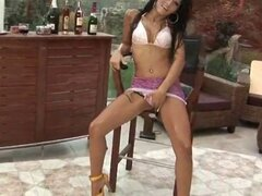 Super horny indian babe working on a big part4. Super horny indian babe working on a big part4.