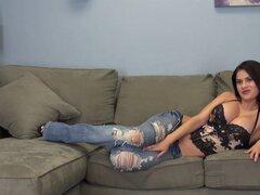 Tetas gigantes de Vanessa Veracruz son la estrella de su show cam - Vanessa Veracruz