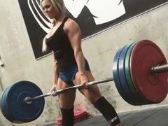 Chica fitness Stephanie (w cuenta regresiva JOI)