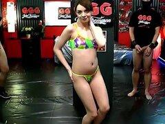 Fabulosa pornstar Khadisha Latina en mamada exótica, película para adultos corridas,