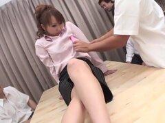 Chick Japon Crazy Anna Mizukawa en JAV increíble sin censura pelicula Gangbang