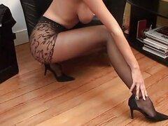 Perfecta esposa Zuzana agradable chica Nylon tetas tetas de sueño de pierna
