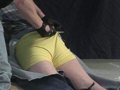 Hombre gay de Masketed policía cerdo abusos
