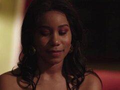 Hermosa Ébano Jenna Foxx le dice algo a Abigail Ma. Hermosa jefe Abigail sorpresa cuando su Asistente Jenna Foxx dice algo que ella está enamorado de ella Luego, más tarde, Abigail va a Jenna y empezar a compartir besos apasionadamente Luego, después, env