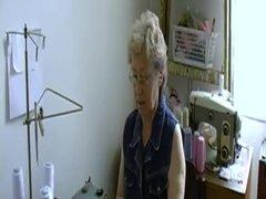 OmaHoteL Granny peluda coño lleno de juguetes para adultos
