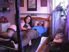 cuckolding with friend, BBW slut wife fucking with another guy in front of husband. She must be addict to sex. More amateur cuckold videos