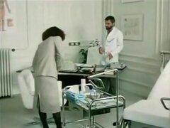 Richard Lemieuvre, Uschi Karnat, Catherine Greiner en película de sexo clásico