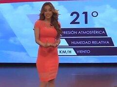 Los mexicanos seguramente saben cómo elegir el presentador pronóstico!, cuerpo deportivo de esta suculenta mujer es increíble, y no es es de extrañar por qué siempre lleva la ropa más provocativa mientras que en la televisión y más estrechos.
