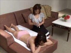 Masaje japonés de hija,