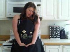 BBW Cocina Bate. Tiras de BBW y bates en la cocina