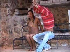 Amateur Pareja Africana de Angola. Amateur Pareja Africana de Angola
