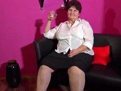Compilación de striptease de abuelitas BBW madura