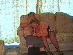 Una abuela gorda tiene sexo con su marido
