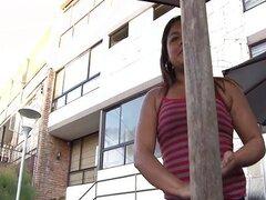 Gordita Latina Lorena Lobos golpeado