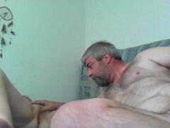 Caserito masturbando una amante hermosa vagina