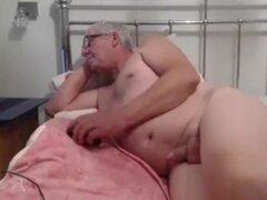 Abuelo cum en webcam 1,