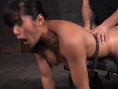 Chica asiática con un culo perfecto obtener bonked por sus captores cachondas - Mia Li, Matt Williams, Maestro