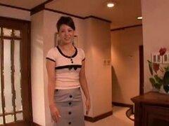 Japonesa madre tomado por amigo del hijo, es seducir a la madre por hijo amigos