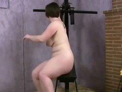 Gordita peluda entrenamiento