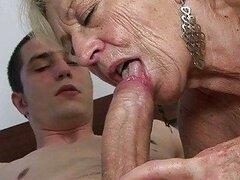 granny seduces