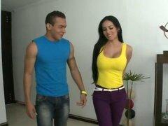 Natasha le cumple el deseo a samuel Rica Colombiana