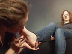 pornoid lesbian feet slaves