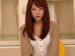 Puta japonesa caliente Akiho Yoshizawa en más caliente handjobs video JAV,