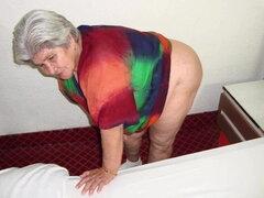 HelloGrannY Inesperado Desnudo Latin Granny Fotos