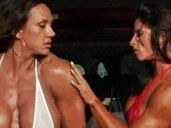 Sexy lesbianas de músculo... chica lesbiana kyd sobre lesbianas chica