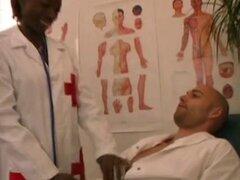 Peludo enfermera del africano del sur