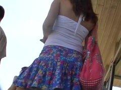 Panty up enagua de hotty país, esta chica estaba vestida como belleza de país que llegaron en la gran ciudad para visitar. Lo descubrí cautivante y realmente vale la pena está grabando el clip. ¿Quiero a ver mejor up panty falda de una hermosa belleza sli