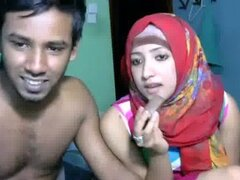 pareja de recién casados srilankan indio en vivo en show cam