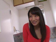 Grandes pecho miel Kaho Shibuya achuchó bien por su amante - Kaho Shibuya