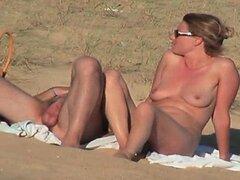 Video escondido de pareja francesa caliente en la parte de playa 6
