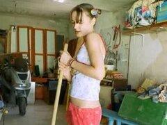 ultra caliente desnuda sexy agujero en garaje